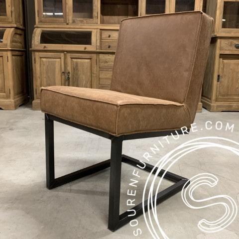 Nieuw! Leren stoelen met en zonder armleuning