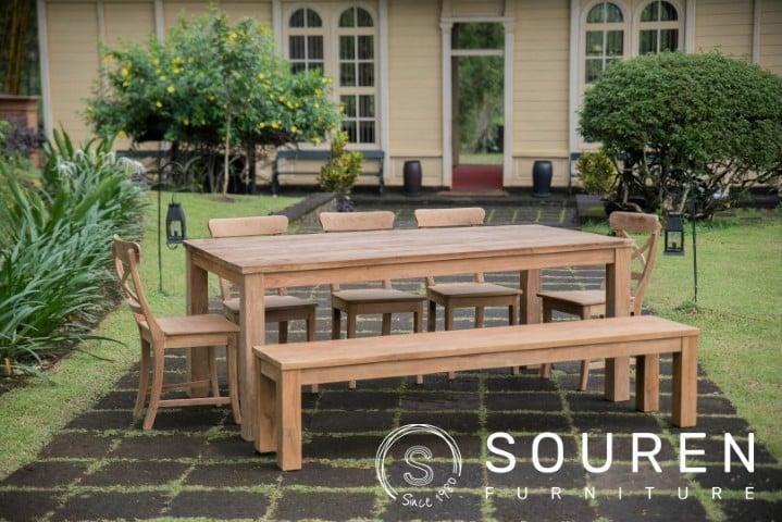 Afmetingen tafel voor 6-8 personen